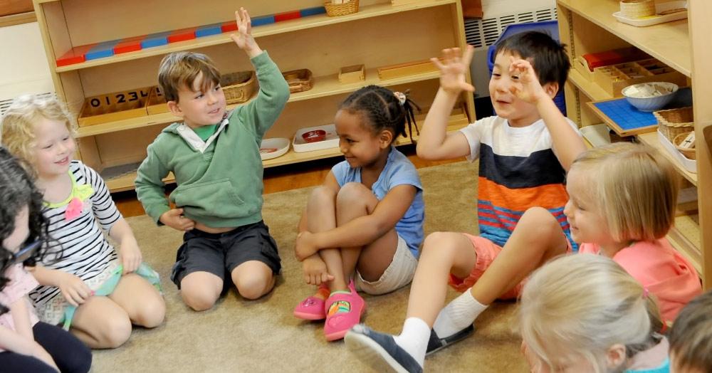 Montessori Circle Time at Rose Hall Montessori